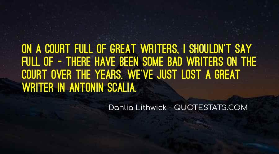 Scalia's Quotes #36198