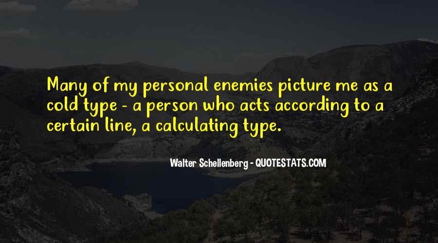 Schellenberg's Quotes #329530