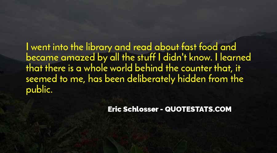 Schlosser's Quotes #195782