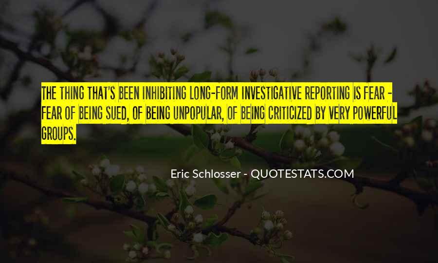 Schlosser's Quotes #279606