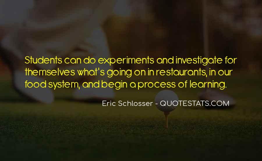 Schlosser's Quotes #733762