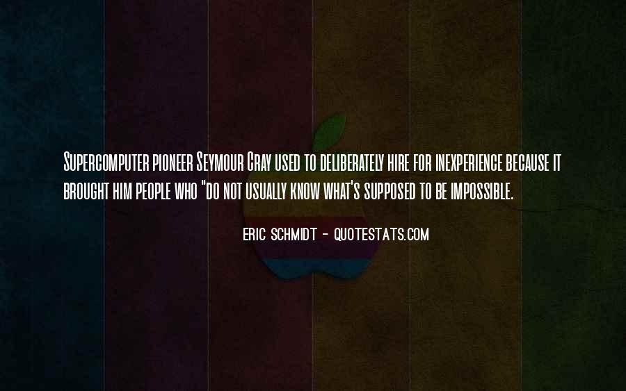 Schmidt's Quotes #1210284
