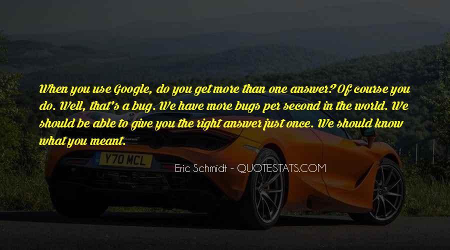 Schmidt's Quotes #236383