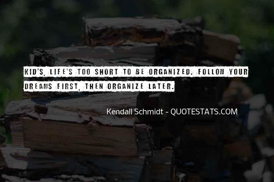 Schmidt's Quotes #670952