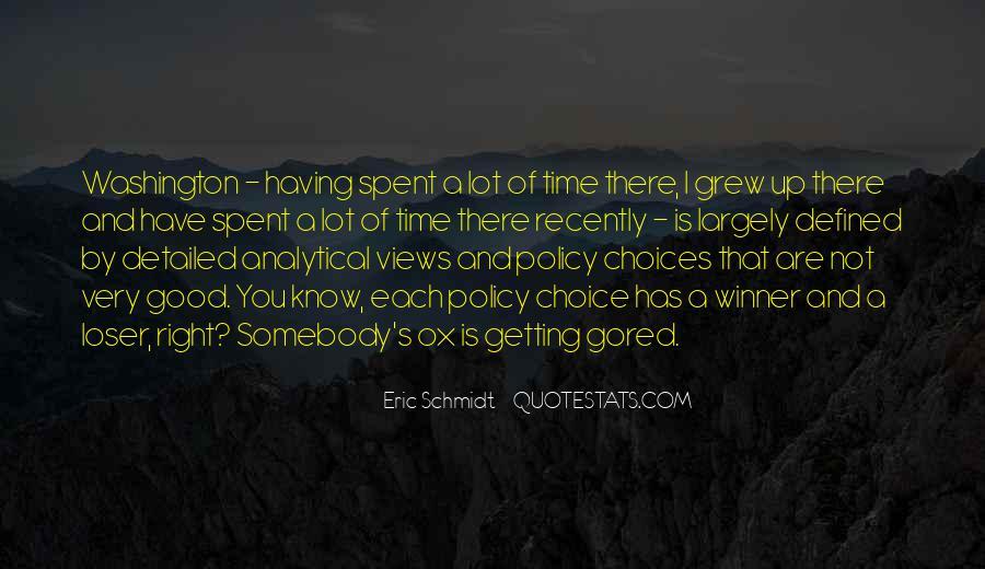 Schmidt's Quotes #995515