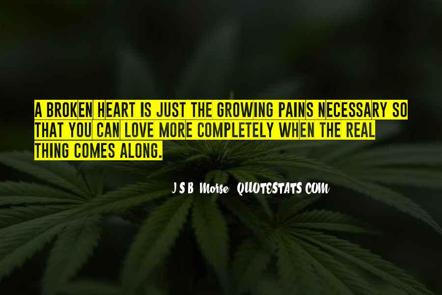 Quotes About Growing To Love Someone #119489