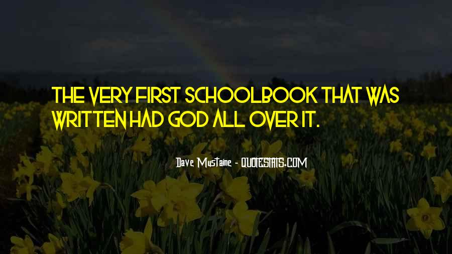 Schoolbook Quotes #1878727