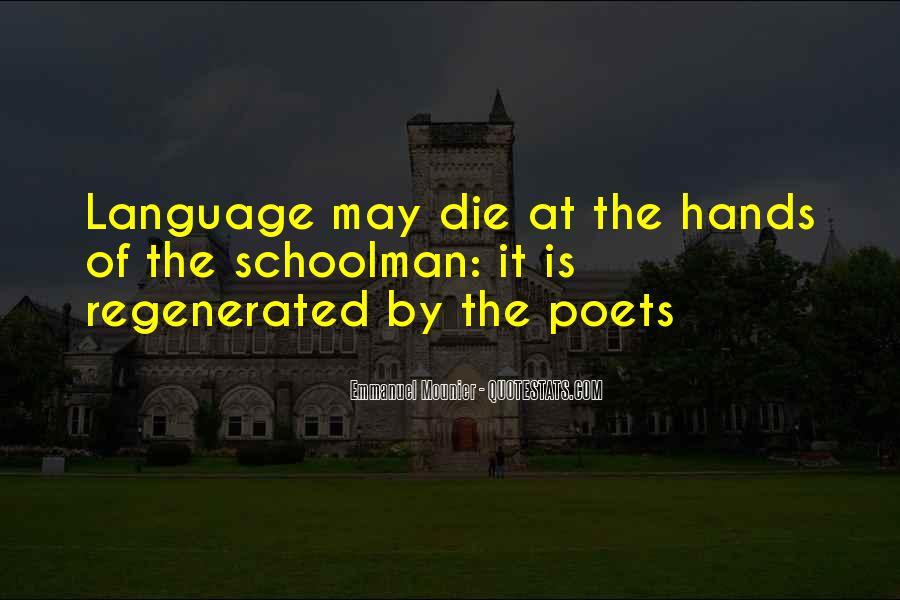 Schoolman Quotes #440030