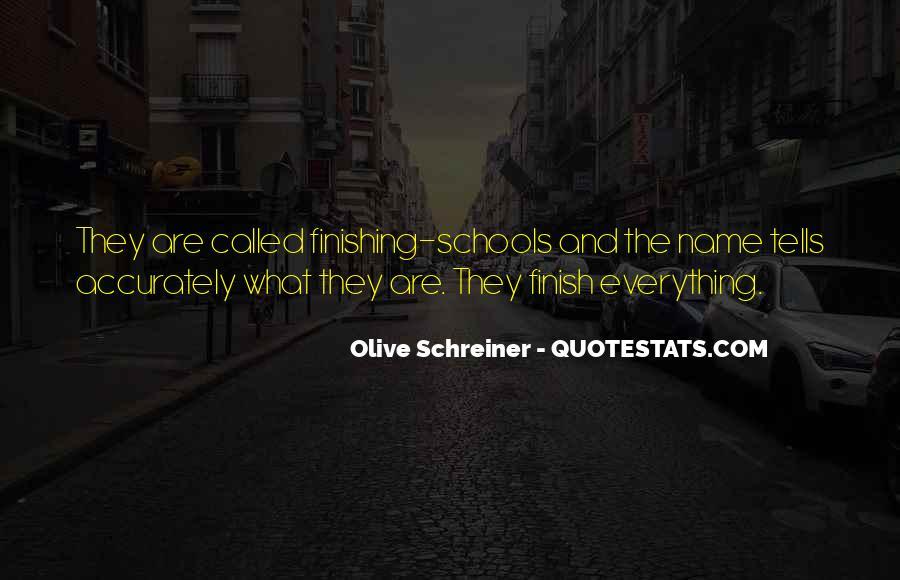 Schreiner Quotes #217268