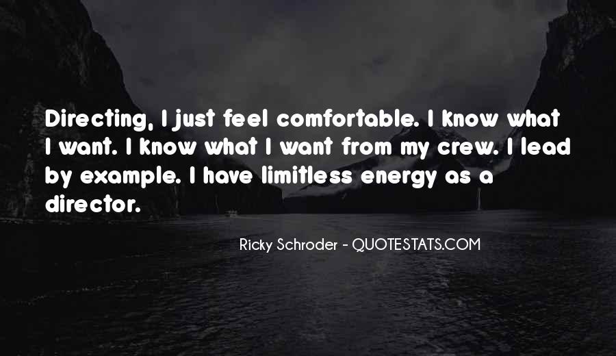 Schroder Quotes #1085001