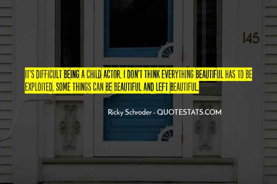 Schroder Quotes #191742