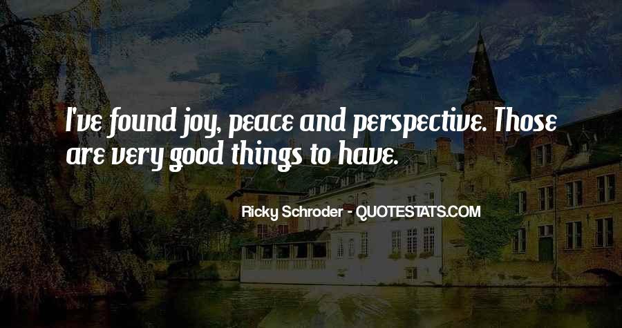 Schroder Quotes #580207
