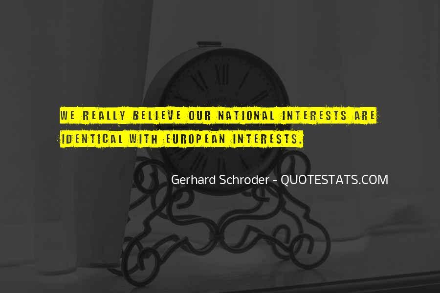 Schroder Quotes #712978