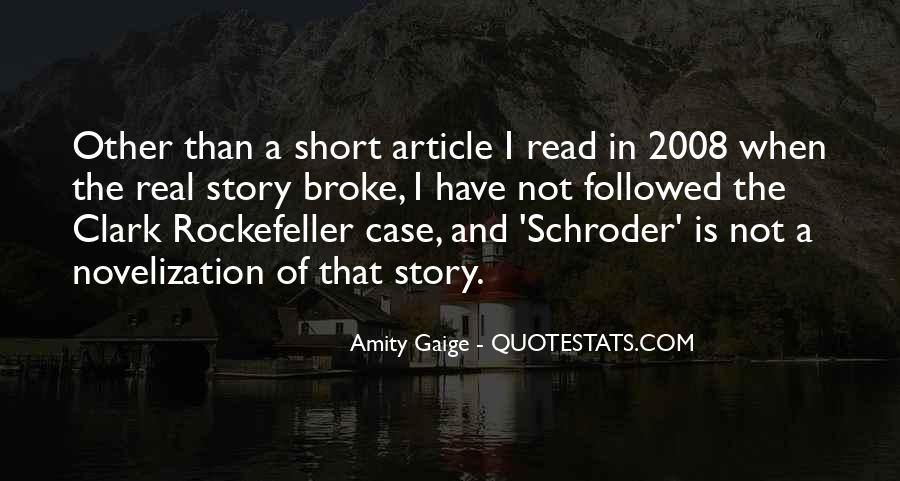 Schroder Quotes #866389