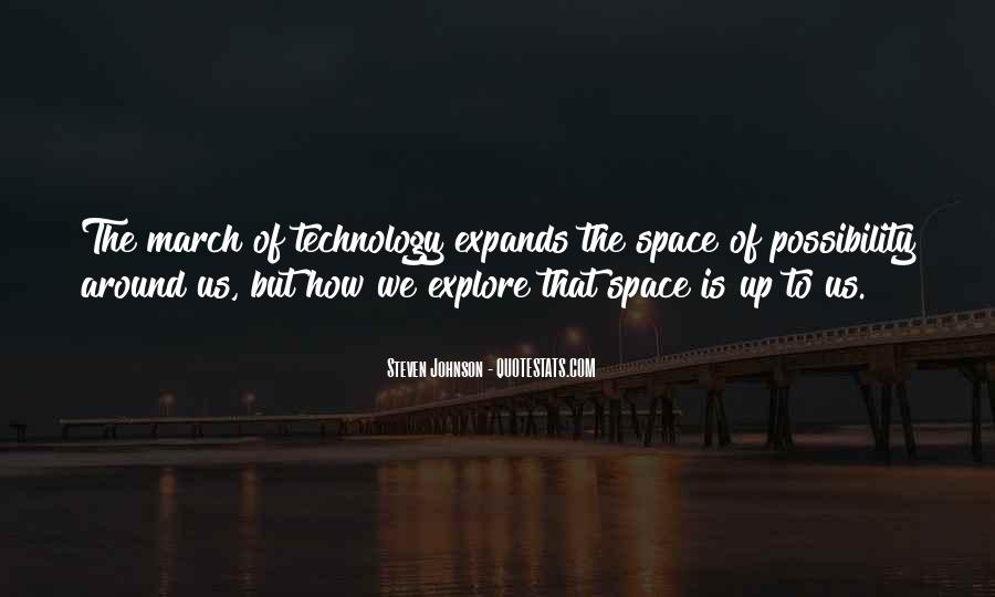 Top 72 Quotes About Space Technology: Famous Quotes ...