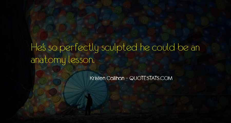 Sculpted Quotes #521936