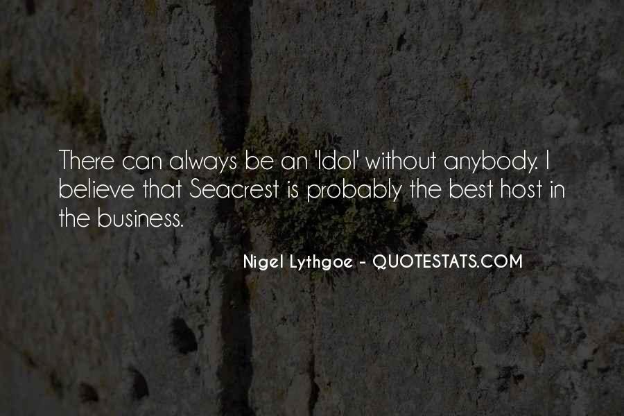 Seacrest's Quotes #108996