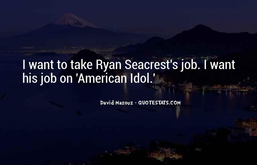 Seacrest's Quotes #1235394