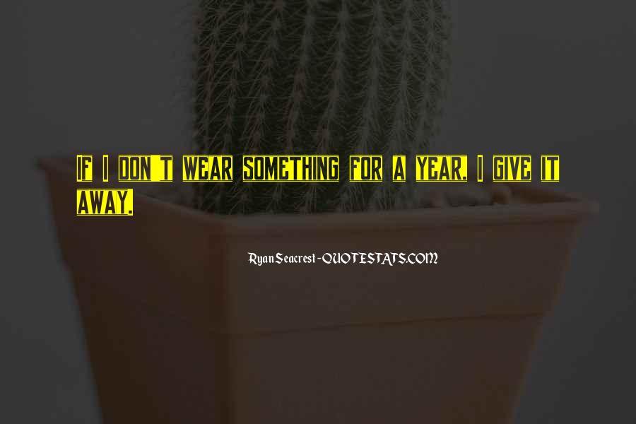Seacrest's Quotes #1473487
