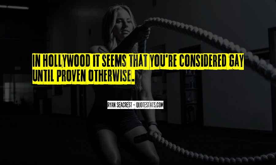 Seacrest's Quotes #463143