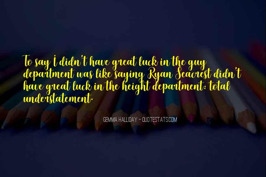 Seacrest's Quotes #884833
