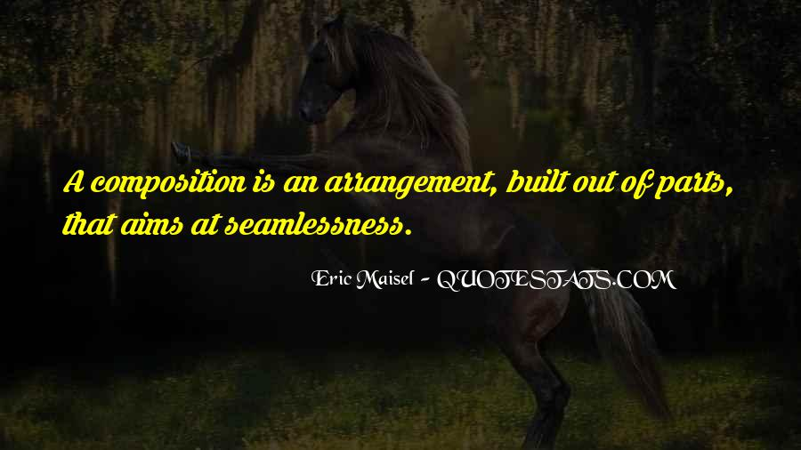 Seamlessness Quotes #1314796