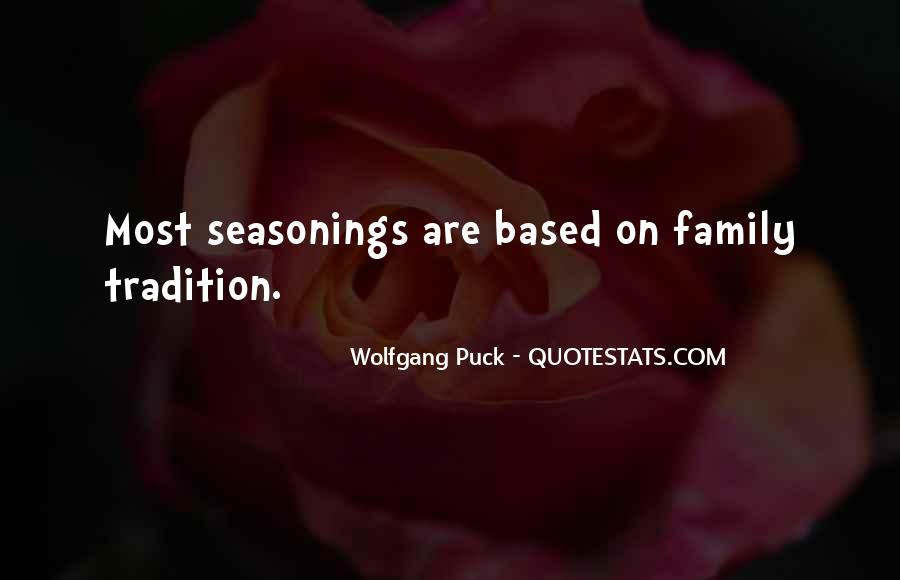 Seasonings Quotes #401507