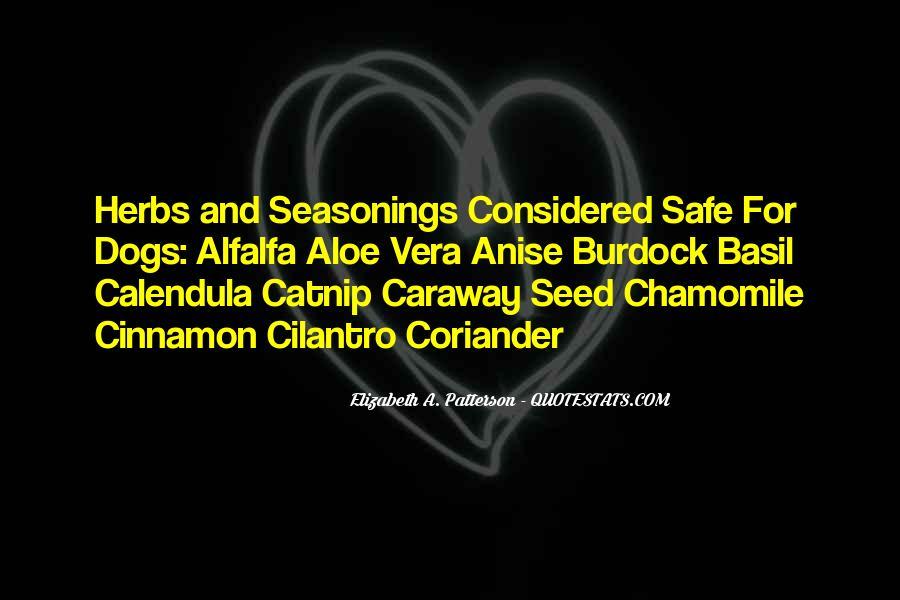 Seasonings Quotes #52064