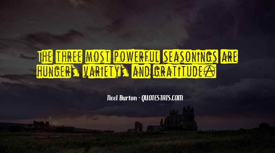 Seasonings Quotes #529918