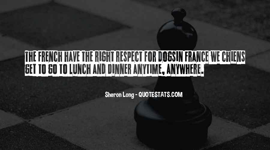 Quotes About Food In France #1129539
