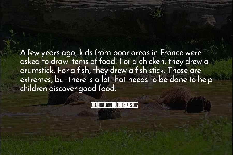 Quotes About Food In France #157369