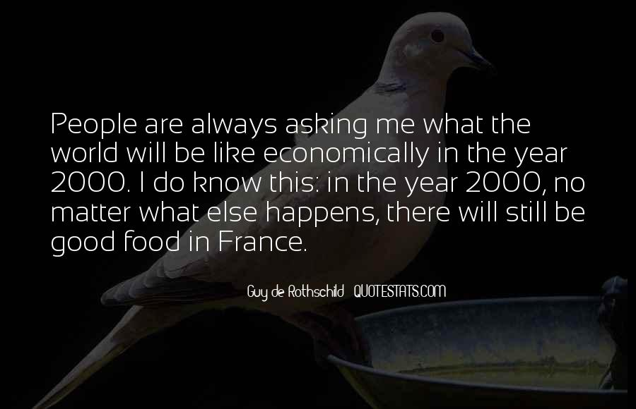 Quotes About Food In France #1818785