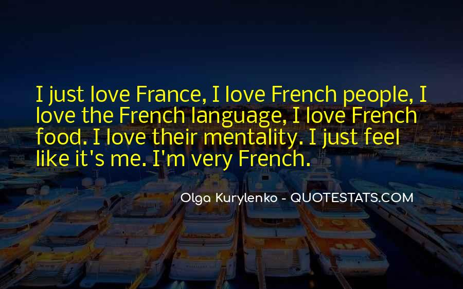 Quotes About Food In France #188290