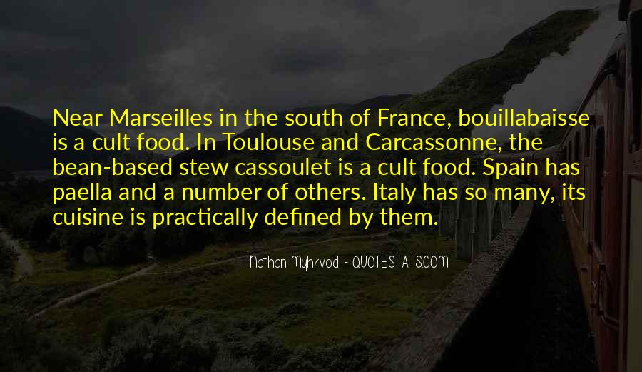 Quotes About Food In France #255690