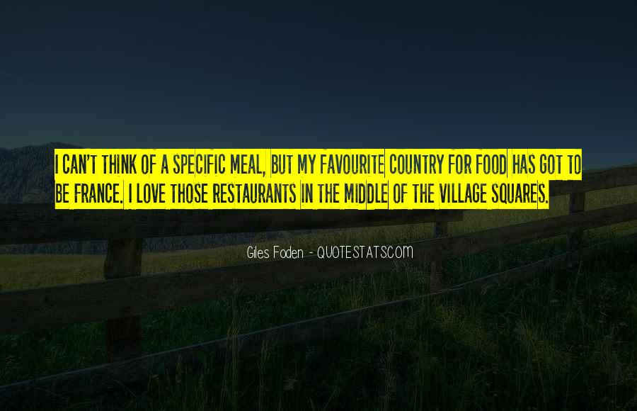 Quotes About Food In France #935320