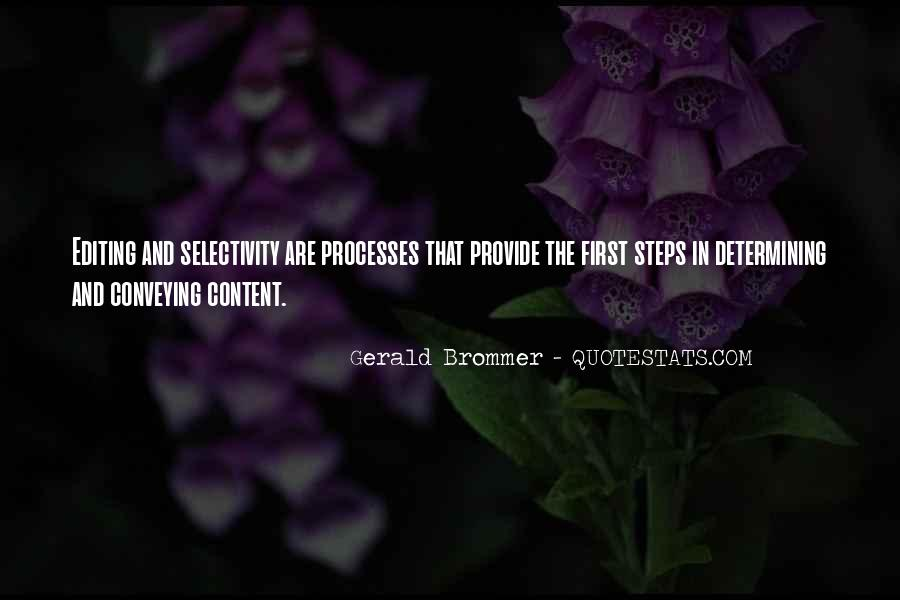 Selectivity Quotes #1347999