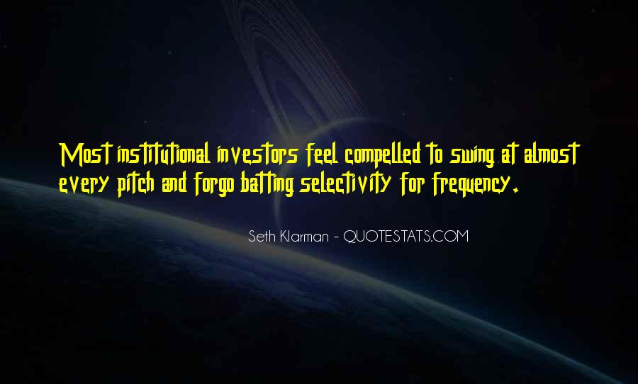 Selectivity Quotes #1611910