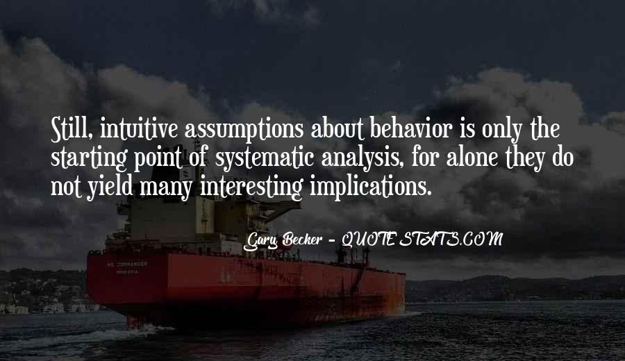 Quotes About Behavior Analysis #734379
