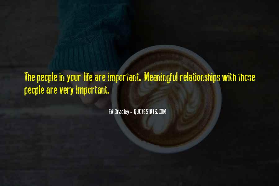 Quotes About Meaningful Life #108856