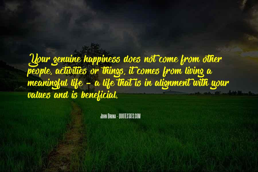 Quotes About Meaningful Life #140652