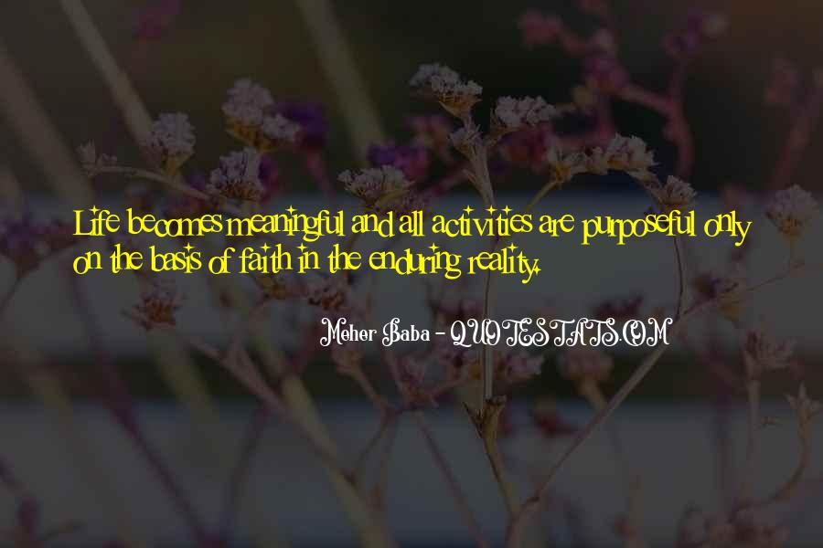 Quotes About Meaningful Life #172708