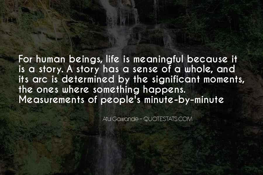Quotes About Meaningful Life #27919