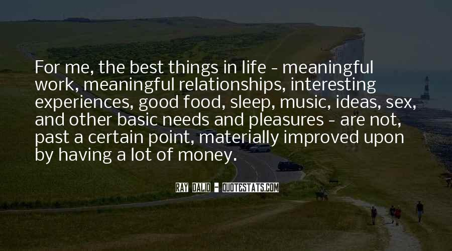 Quotes About Meaningful Life #367553