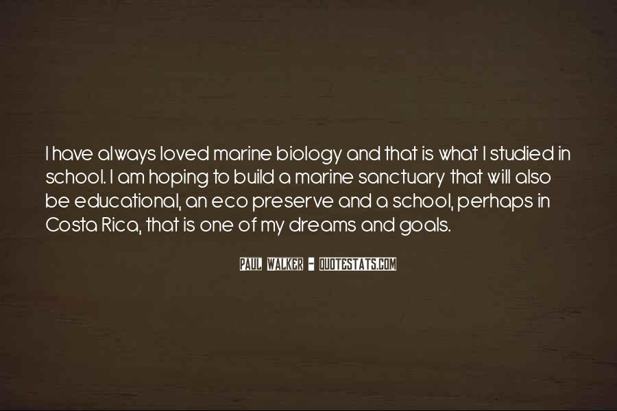 Quotes About Marine Biology #1226084