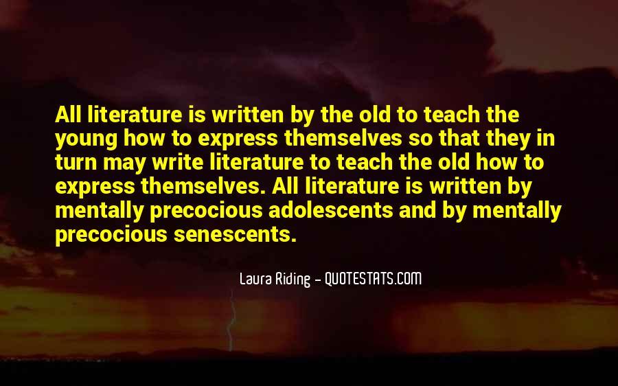 Senescents Quotes #1233443