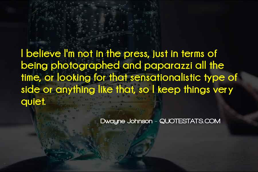 Sensationalistic Quotes #703232
