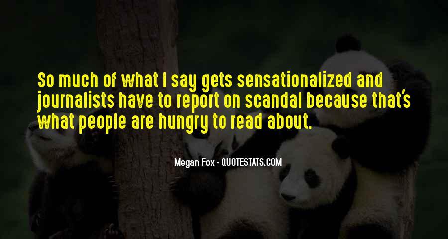 Sensationalized Quotes #911