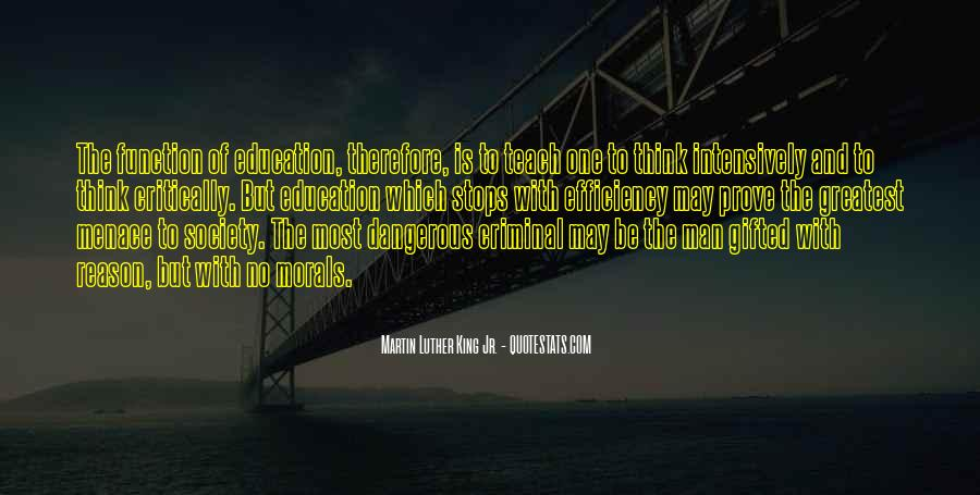 Quotes About Morals And Education #1146425