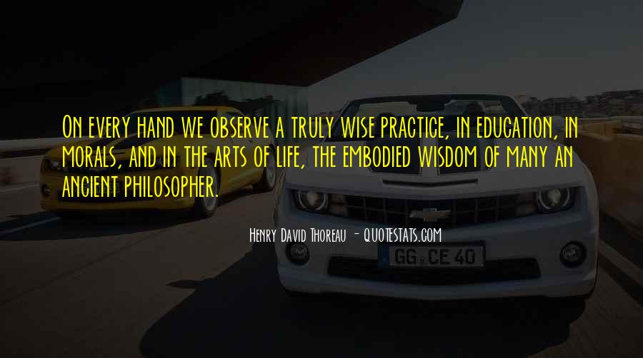 Quotes About Morals And Education #491415