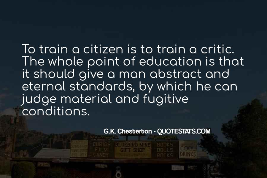 Quotes About Morals And Education #497124